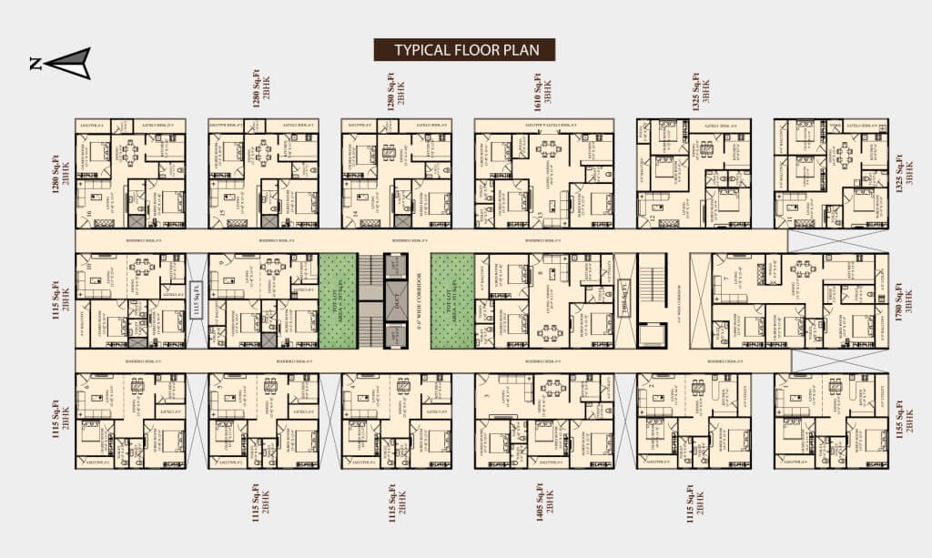 Thalluri Heights Floor Plan